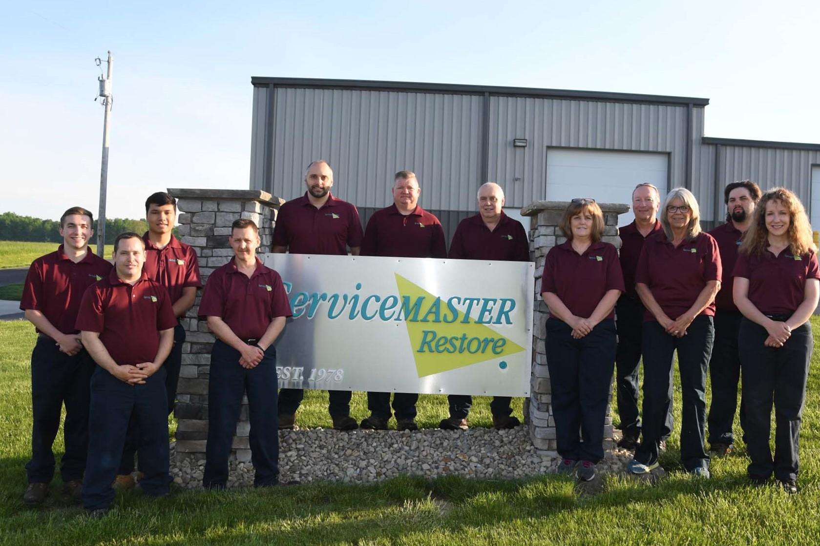ServiceMaster team picture