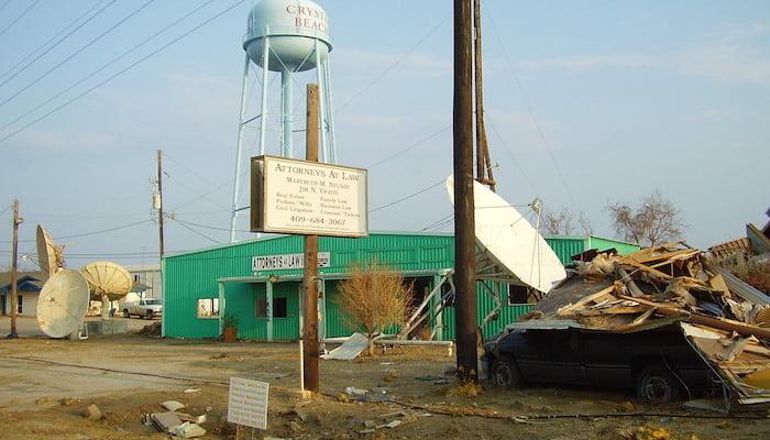 hurricane ike damage to property in 2008