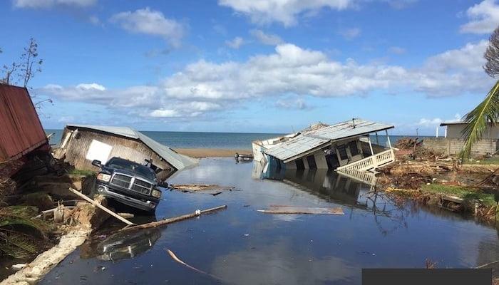 hurricane maria damage in 2017
