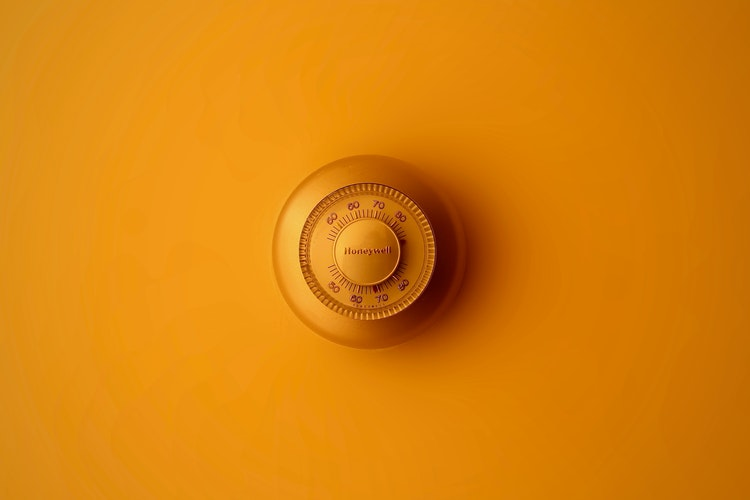 Orange thermostat