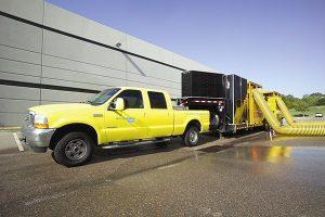ServiceMaster water pump truck