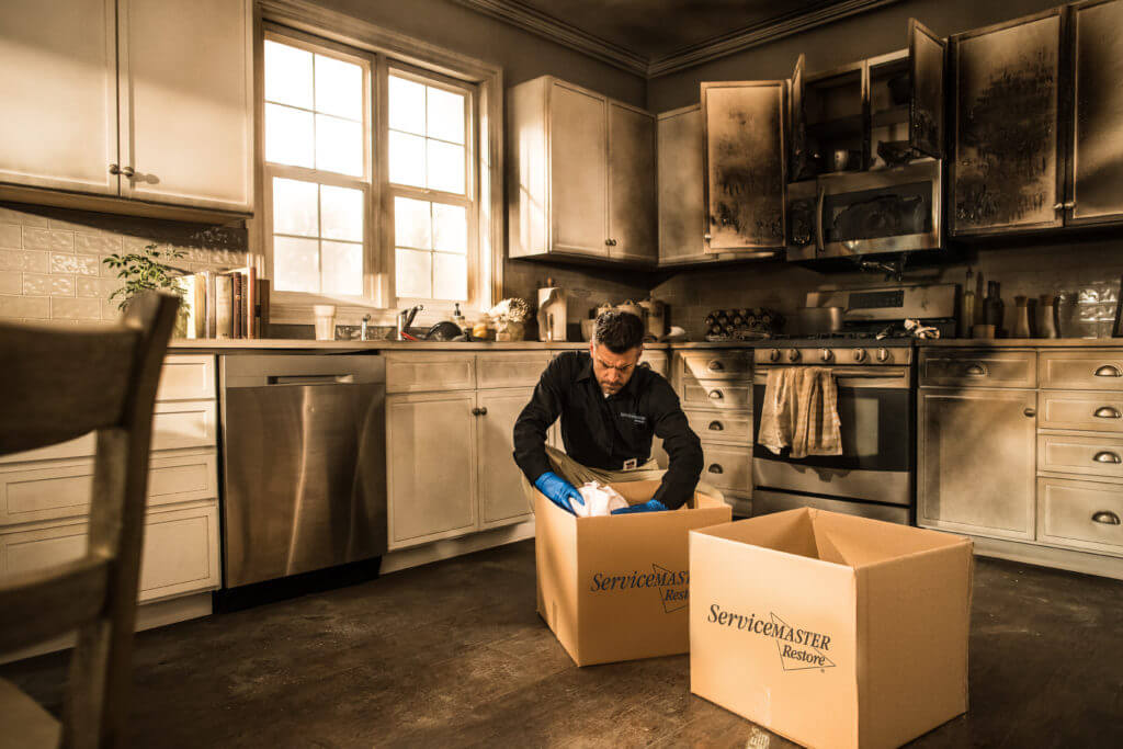 Packing Materials After a Fire
