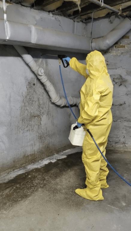Sanitizing Wall