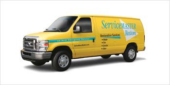 ServiceMaster Restore service van