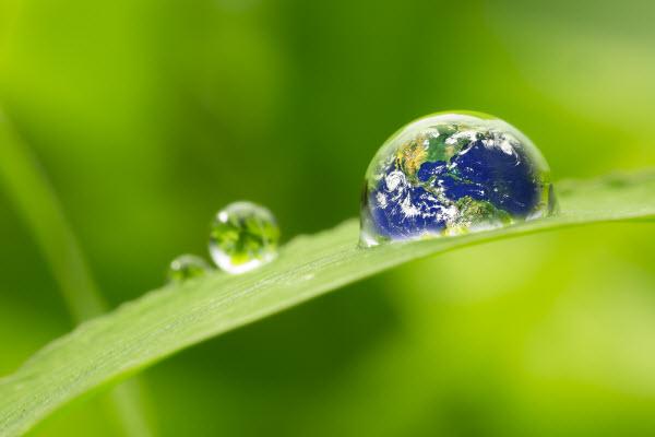Water droplet sur