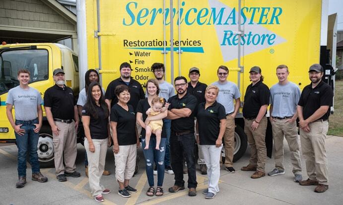 Team photo fpr ServiceMaster