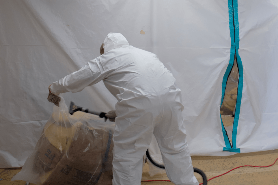 Mold Containment and Sanitization