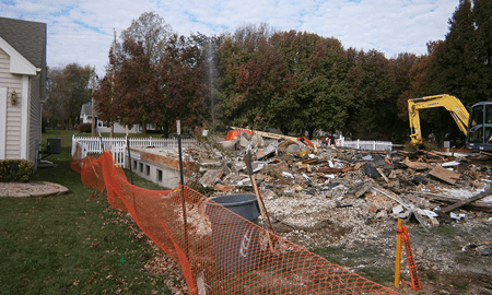Demolished Home