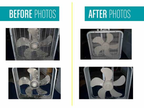 before and after fan pictures