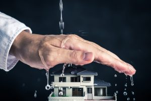 Winter snow that melts in the spring has the potential to run off toward your home, causing significant flooding.