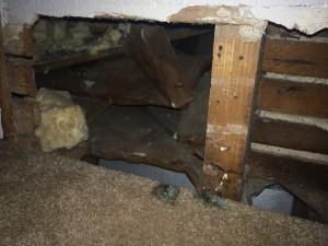 Wall cavity air return before