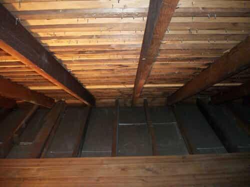 Clean attic