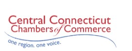 Central Connecticut Chambers of Commerce logo, tagline: one region. one voice.
