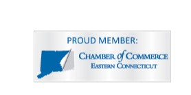 Proud Member: Chamber of Commerce Eastern Connecticut with logo