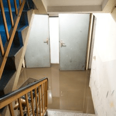 basement smells after flooding dallas tx