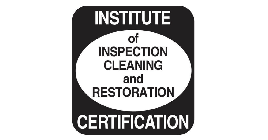 Institues of inspection claening and restoration certification