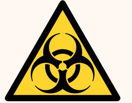 Biohazar sign