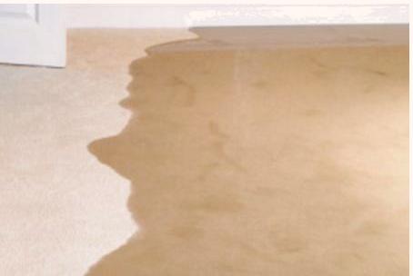 Water on the floor
